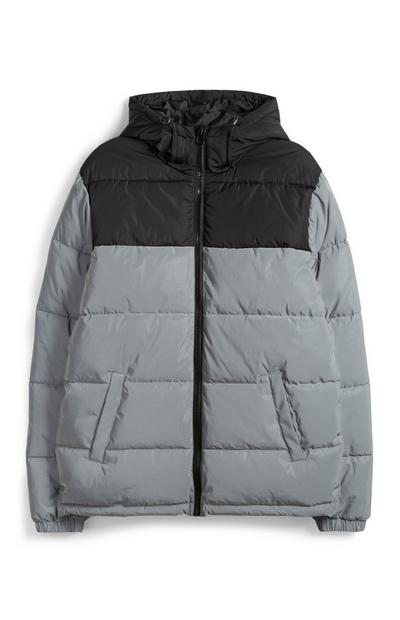 Grey Padded Jacket