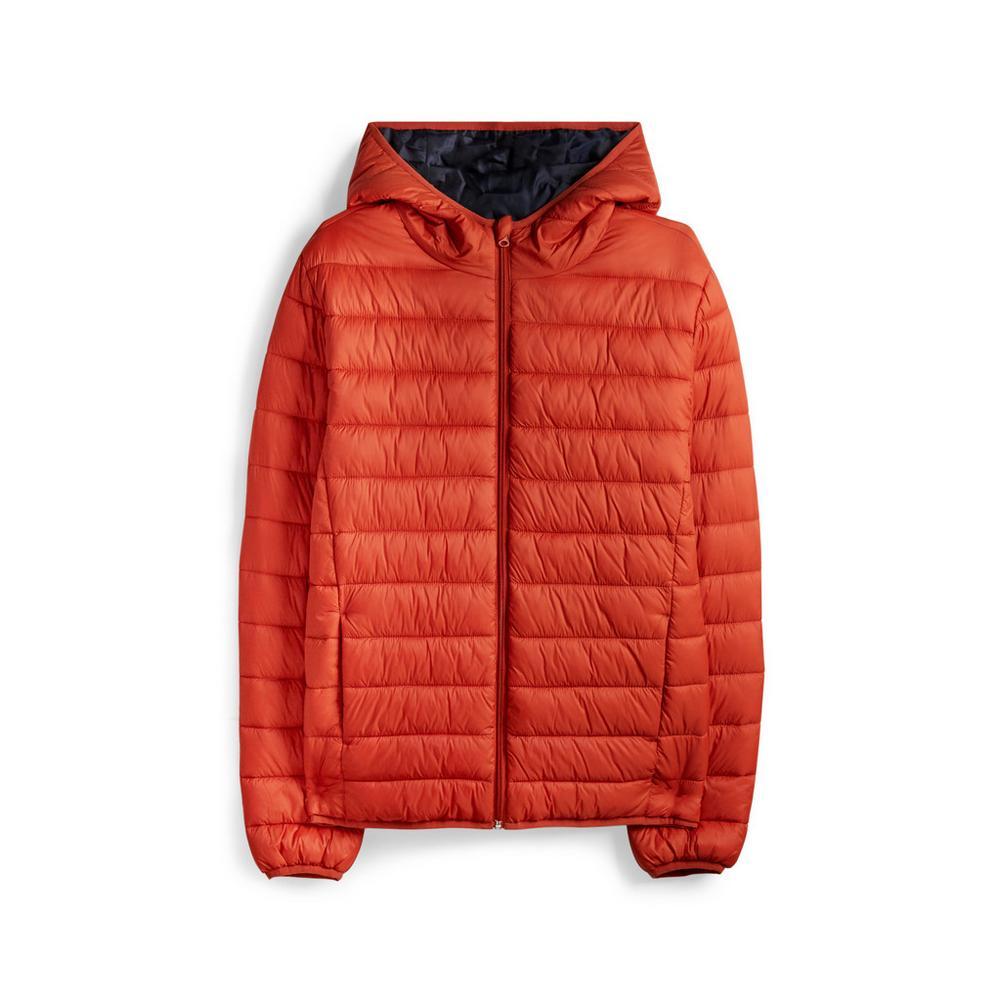 orange-hooded-puffer-jacket by primark