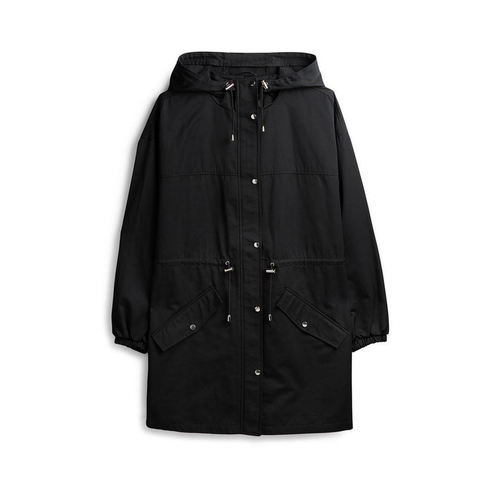 best website f5dea f88ee Impermeabile nero | Parka e piumini | Giacche e cappotti ...