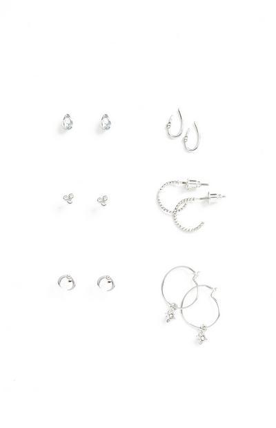 Earrings 6Pk