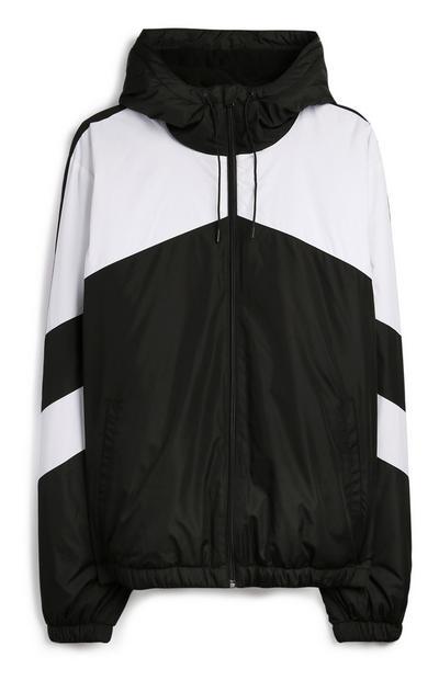 Black And White Chevron Jacket