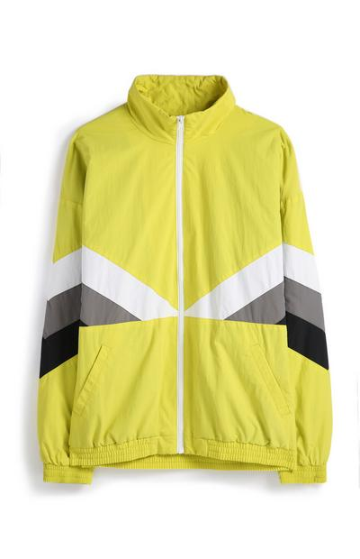 Colour Block Chevron Jacket