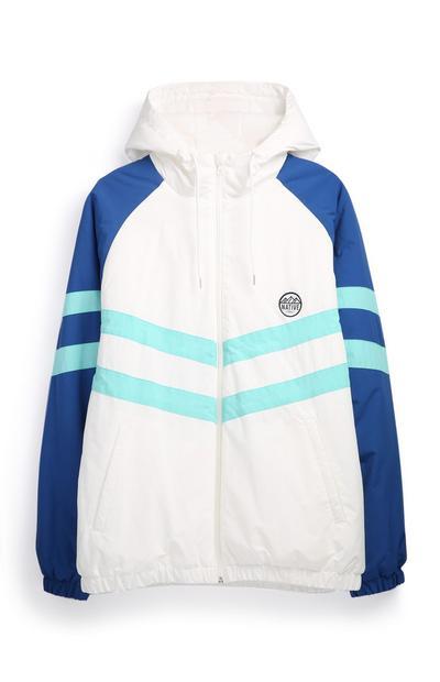 Colour Block Chevron Jacket