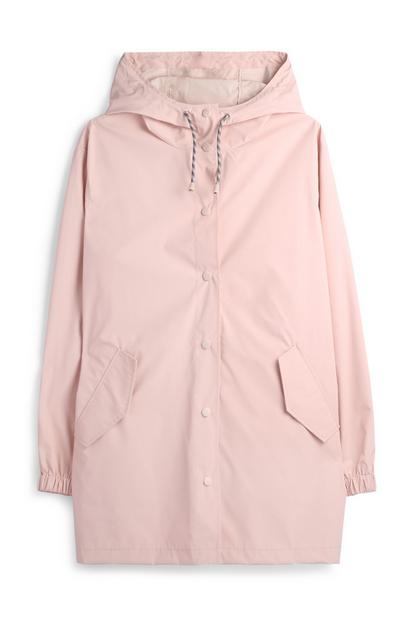Blush Raincoat