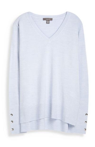 Light Blue Supersoft Jumper