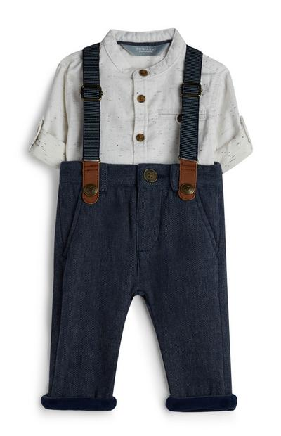 Baby Boy Shirt And Trousers Set