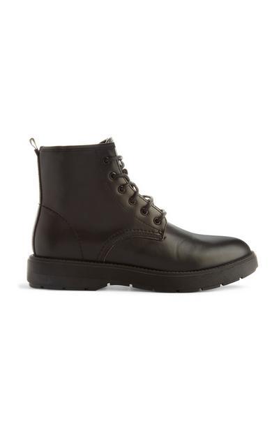 Black Chunky Boot