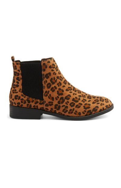 Animal Print Chelsea Boot