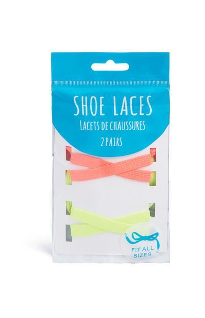 Neon Shoe Lace 2Pk