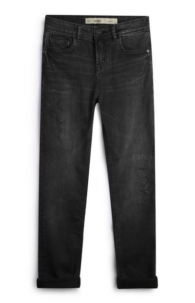 Older Boy Black Jeans