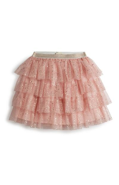 Younger Girl Pink Tutu Skirt