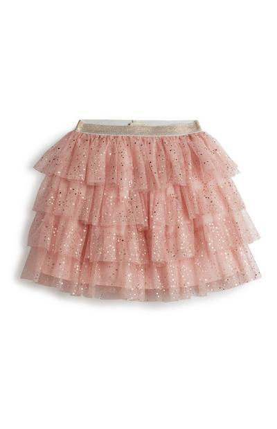 Younger Girl Pink Tutu Skirt
