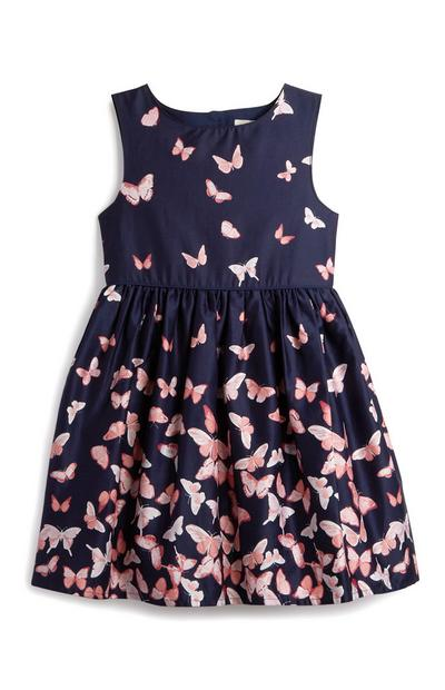 Younger Girl Butterfly Dress