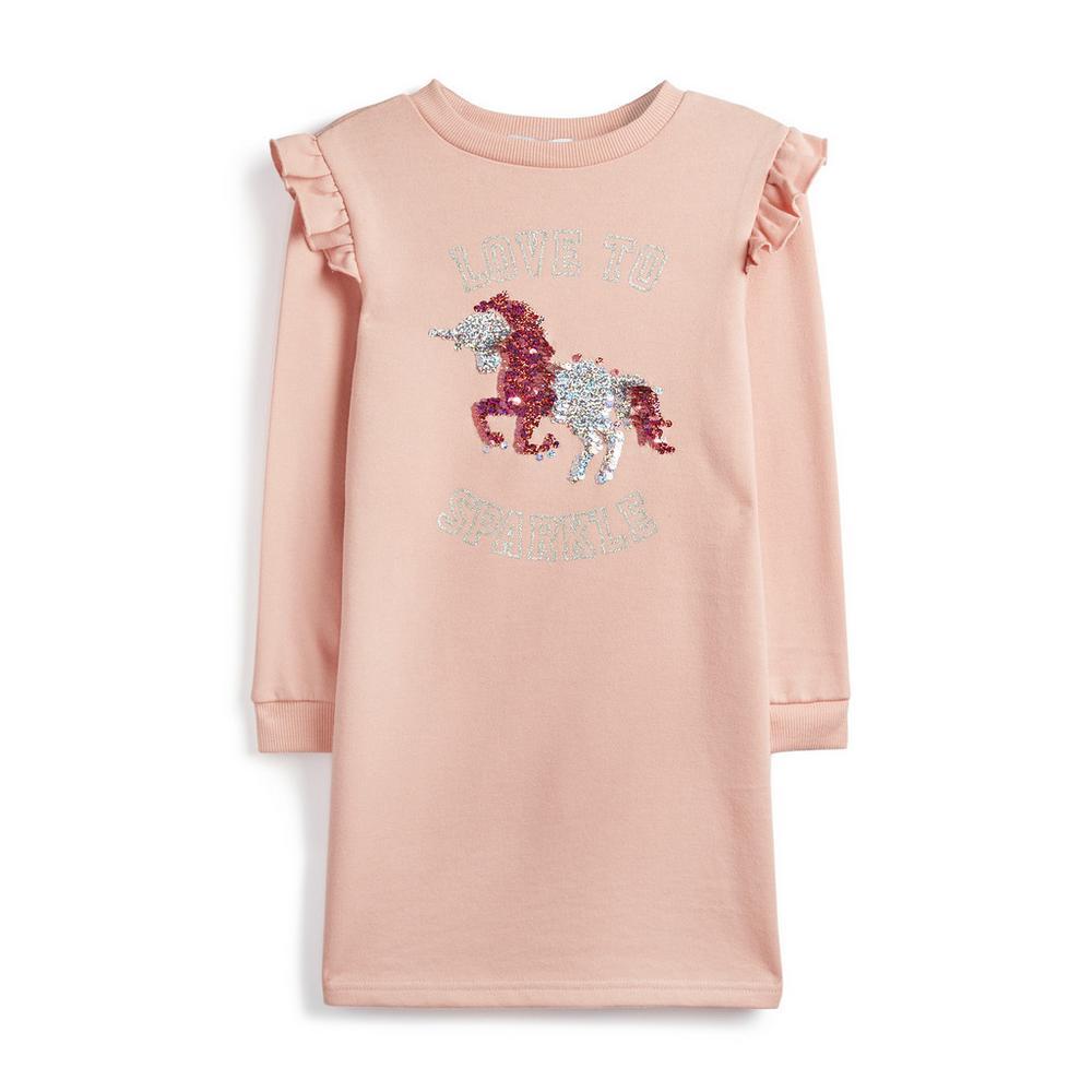 prestazioni superiori ampia selezione di design uomo Abito rosa con unicorno da ragazza | Abiti da bambina ...
