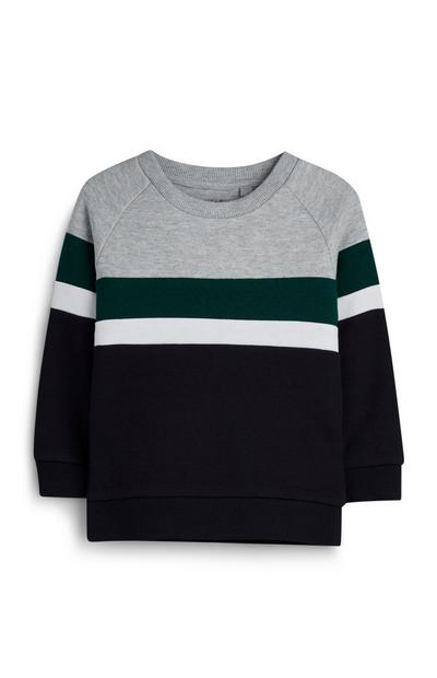 Younger Boy Colour Block Jumper