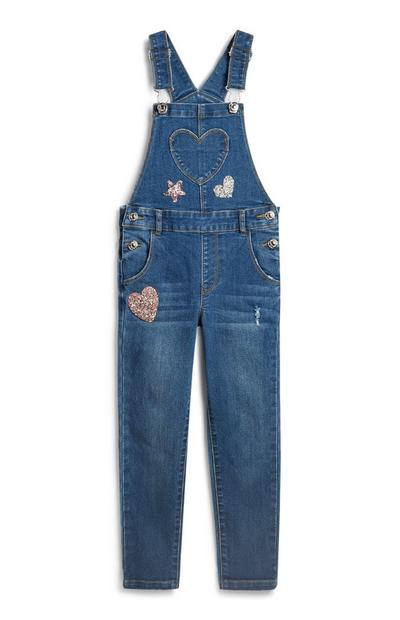 Younger Girl Dungaree