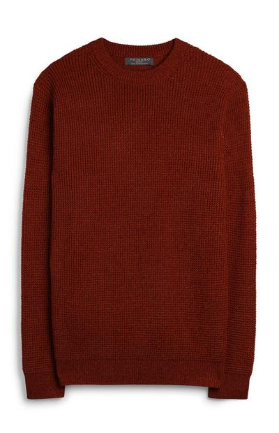 Orange Knit Jumper