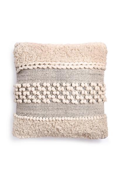 Cream Texture Cushion