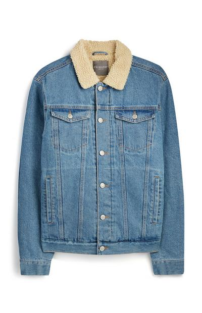 Denim Borg Jacket