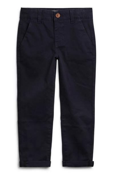Younger Boy Navy Chinos