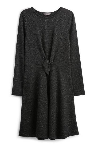 Older Girl Tie Front Dress