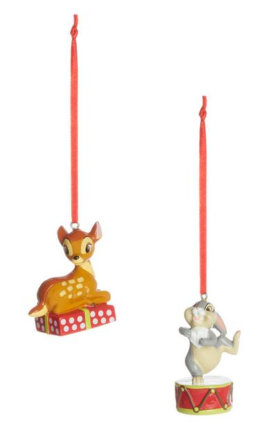 Bambi And Thumper Christmas Decorations