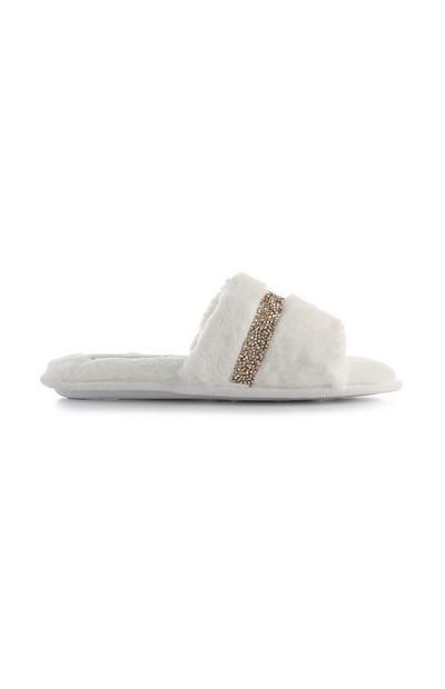 Cream Fluffy Sliders