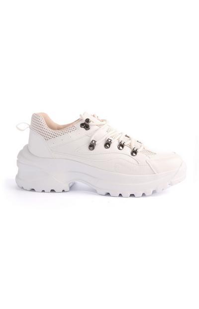 White Hiker Trainer