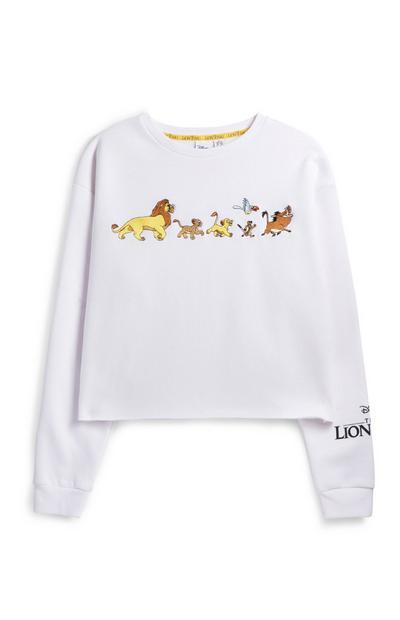 Lion King Cropped Jumper