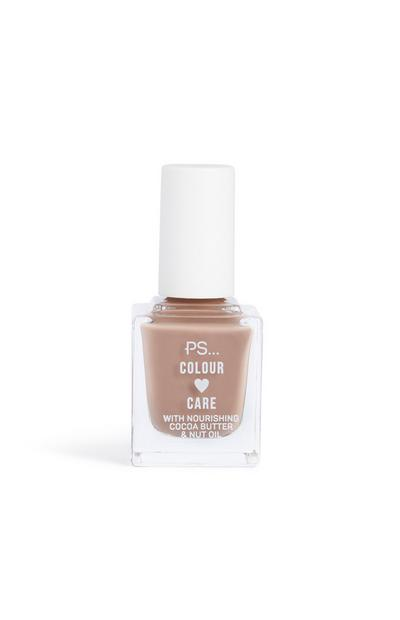 Mushroom Colour And Care Nail Polish