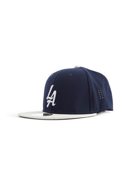 Navy LA Baseball Cap