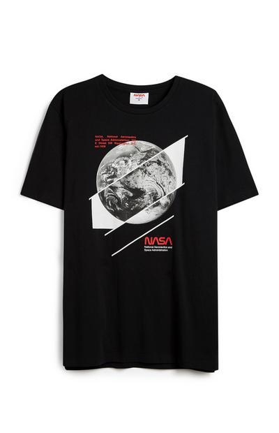"""T-Shirt mit """"NASA Moon""""-Aufdruck"""
