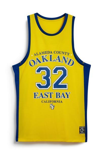 Yellow Basketball Vest