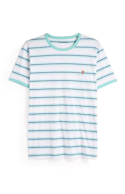 White Striped T-Shirt