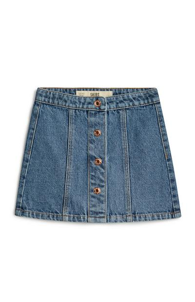 Younger Girl Denim Skirt