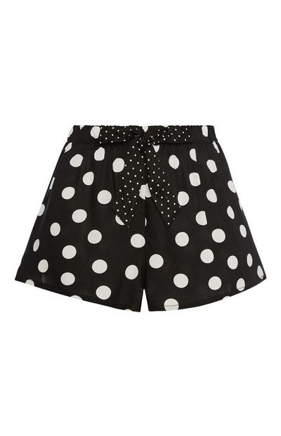 Polka Dot Pyjama Short