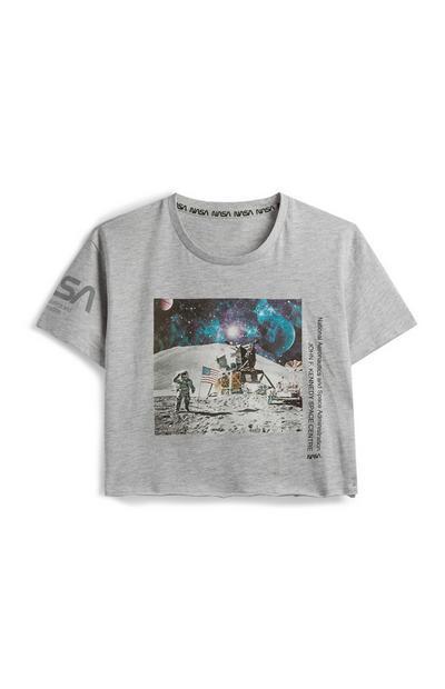 NASA Crop T-Shirt