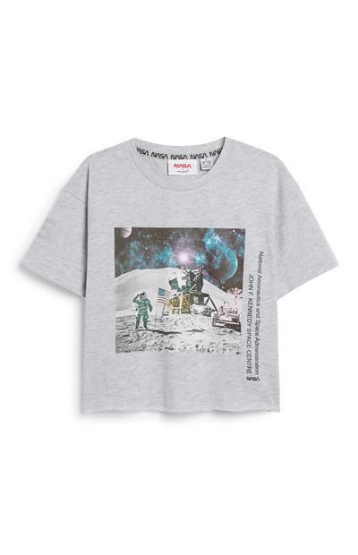 Grey Nasa T-Shirt