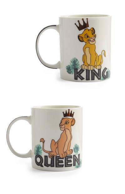 Lion King Mugs 2Pk