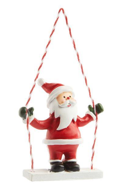 Hanging Santa Decoration