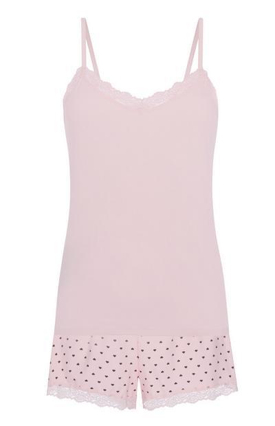 Pink Pyjamas 2Pc
