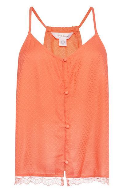 Orange Pyjama Cami