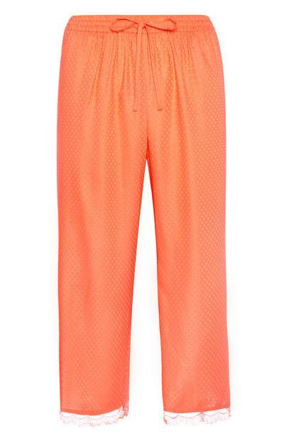 Orange Pyjama Trouser