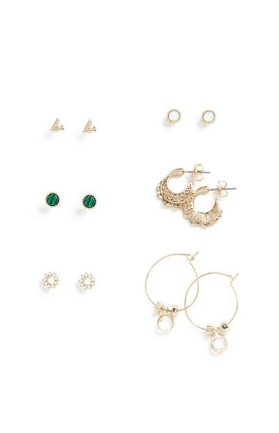 Earrings 6Pk