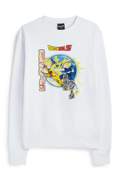 White Dragon Ball Z Jumper