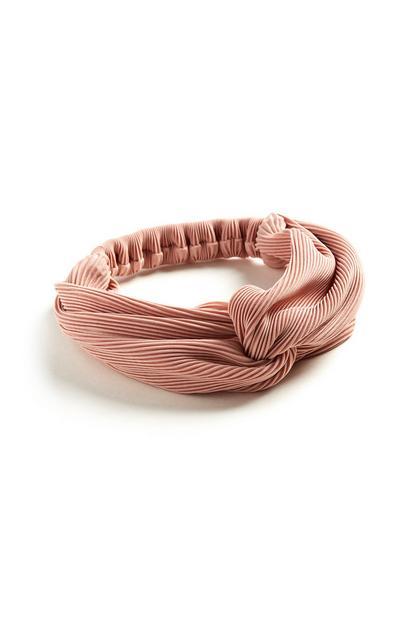 Pink Turban Headband