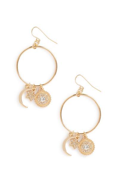 Charm Drop Earrings