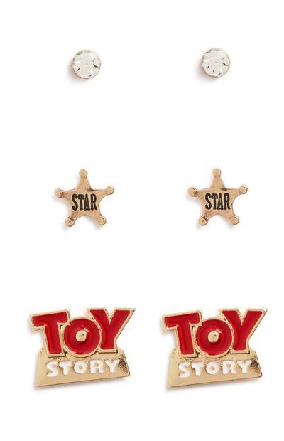 Toy Story Stud Earring 3Pk