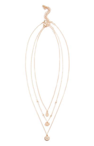 Layer Pendant Necklace