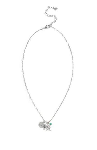 Elephant Pendant Necklace